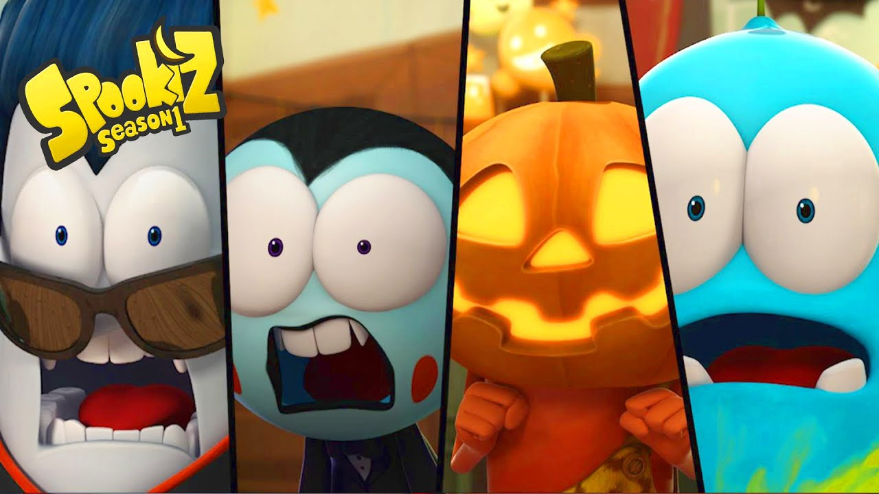 Spookiz Halloween Special Season 1 Videos For Kids