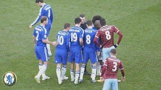 Chelsea, Oscar, Willian, Almost Scored Goals Free Kicks