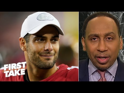 Stephen A. picks the 49ers to beat Aaron Rodgers & the Packers 35-27 | First Take