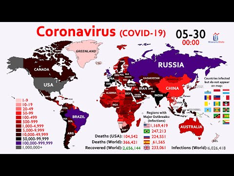 How the Coronavirus Infected Over 6 Million People in Just 4 Months