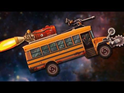 DIE ON THE MAGIC SCHOOL BUS - Earn to Die HD #2