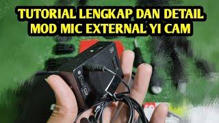 Audio Jack Set Xiaomi Yi Action Camera Mod Mic External Jack Female 3.5mm Modif Audio Kogan Sj4000 Sbox Eken
