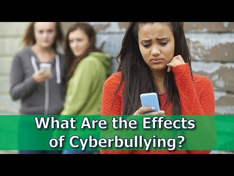 What Are the Effects of Cyberbullying?