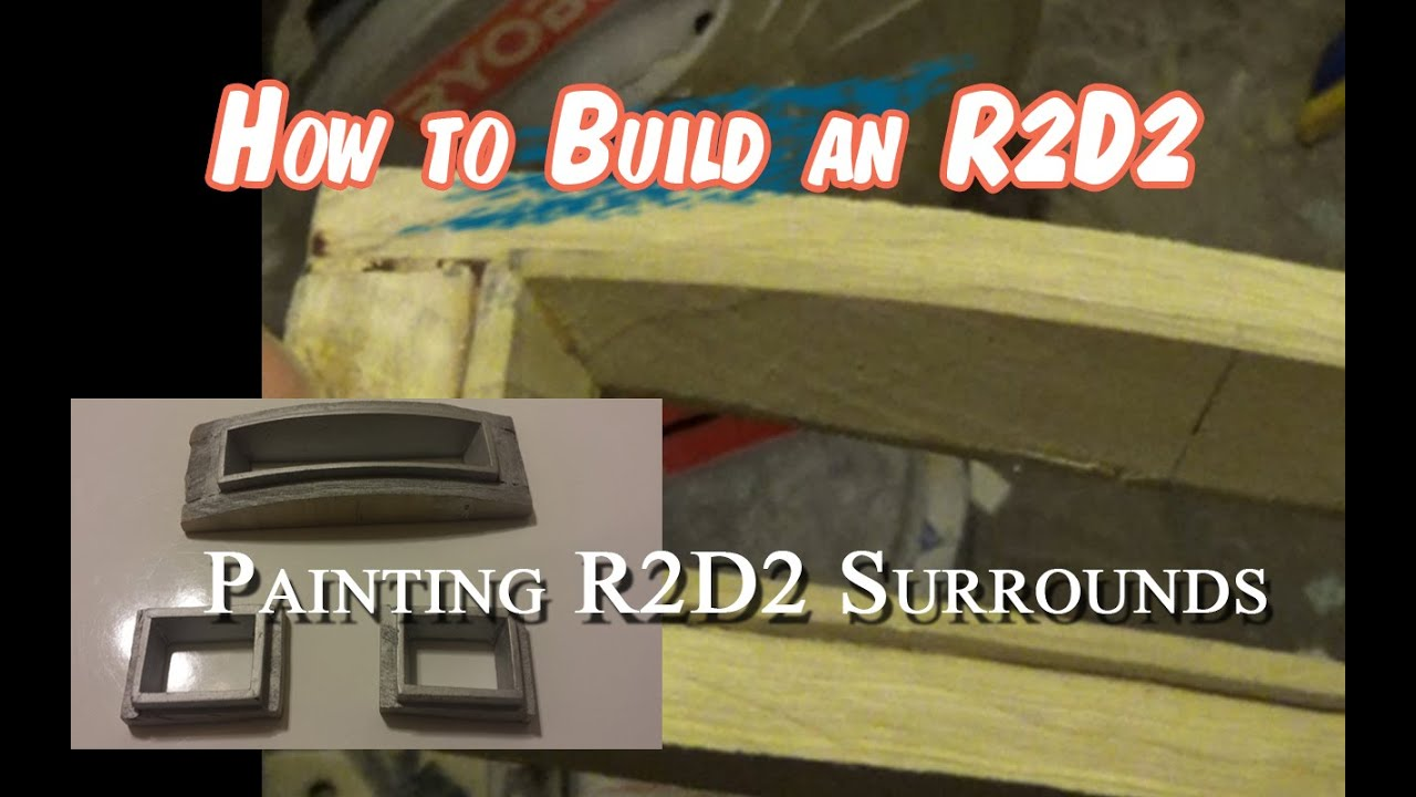 Wood Looking Paint R2d2 Paint Wood Logic Surrounds With Aluminum To Look Like Metal