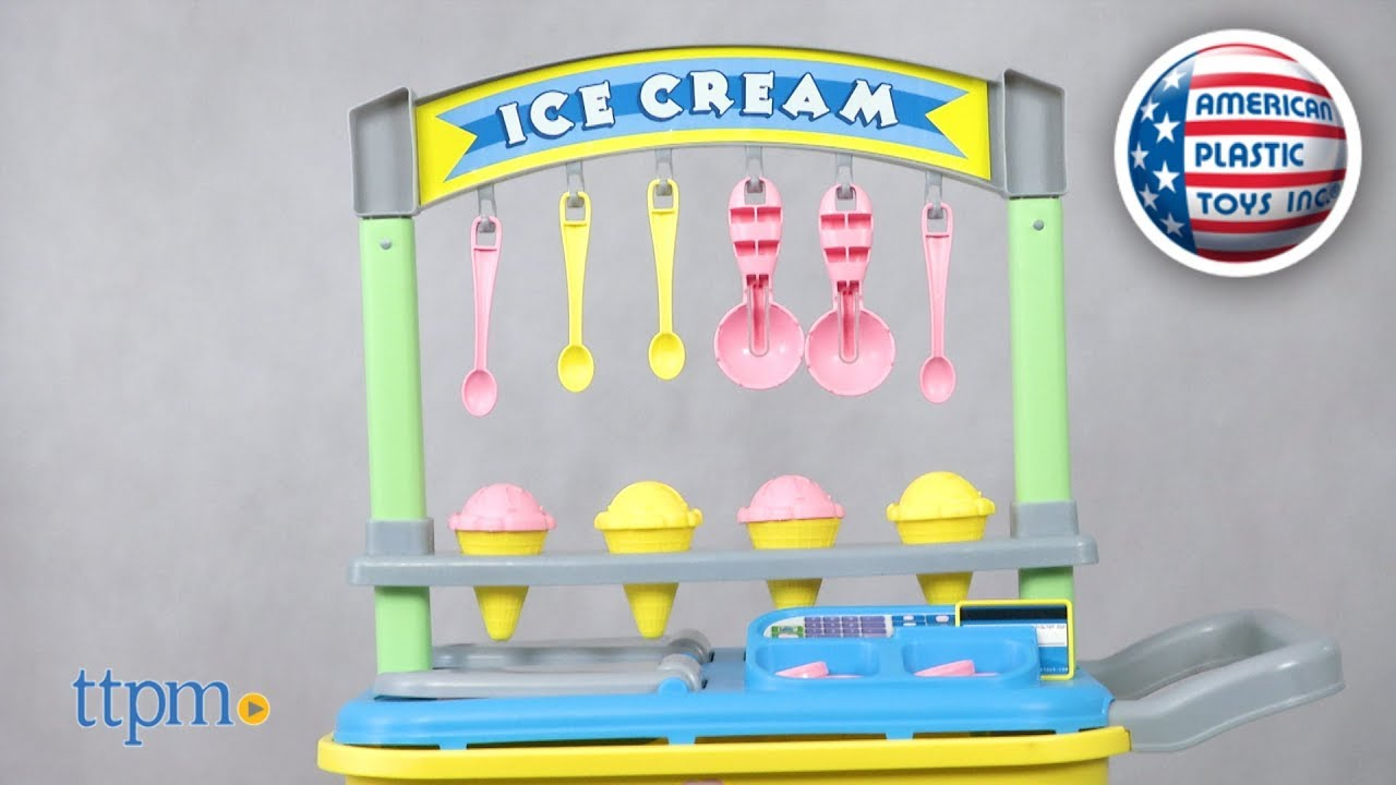My Very Own Ice Cream Cart from American Plastic Toys Inc. - YouTube