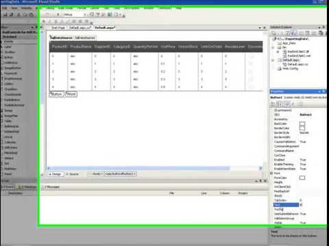 ASP NET Grid Exporting Data to Word and Excel