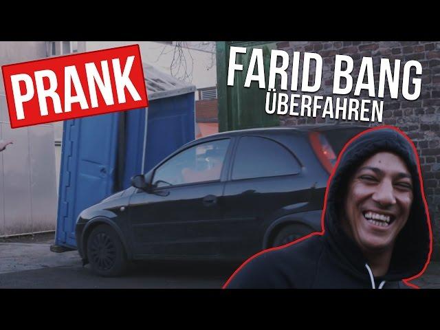 FARID BANG ÜBERFAHREN | MAJOE PRANK | FaxxenTV