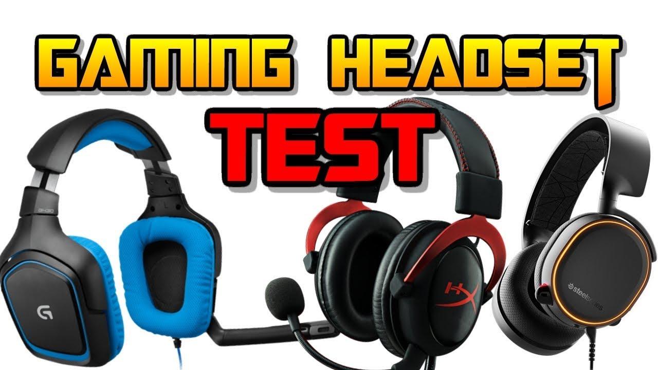 9d648d0d66c Best Gaming Headset Test 2018 | Logitect G430 | Steelseries Arctis 5 | HyperX  Cloud 2 Red