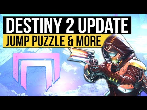 DESTINY 2 NEWS   IO Jumping Puzzle, New Legendaries, Titan NPC, Zavala Cutscene & Subclass Builder!