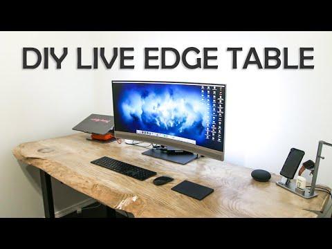 Live Edge Table | Slab | Desk DIY