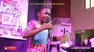 11YRS ADOMBA VIC STORM SUNYANI WITH POWERFUL MESSAGE