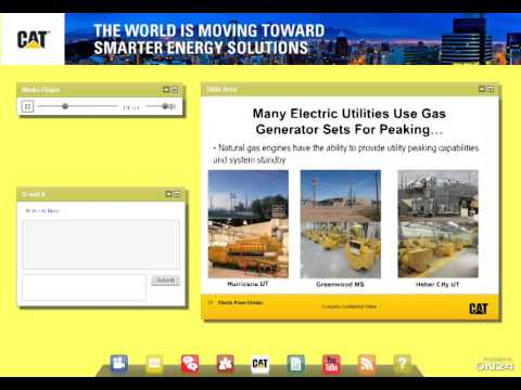 Caterpillar Webcast: Energy Solutions for Data Centers