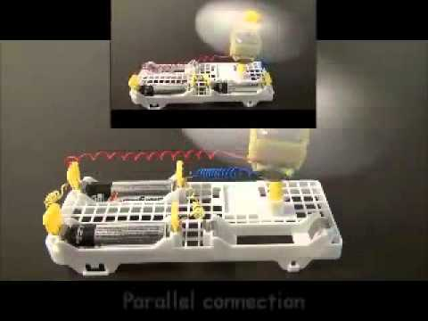 8305 Motor Car Basic Experiment Kit (Optional Solar Power)