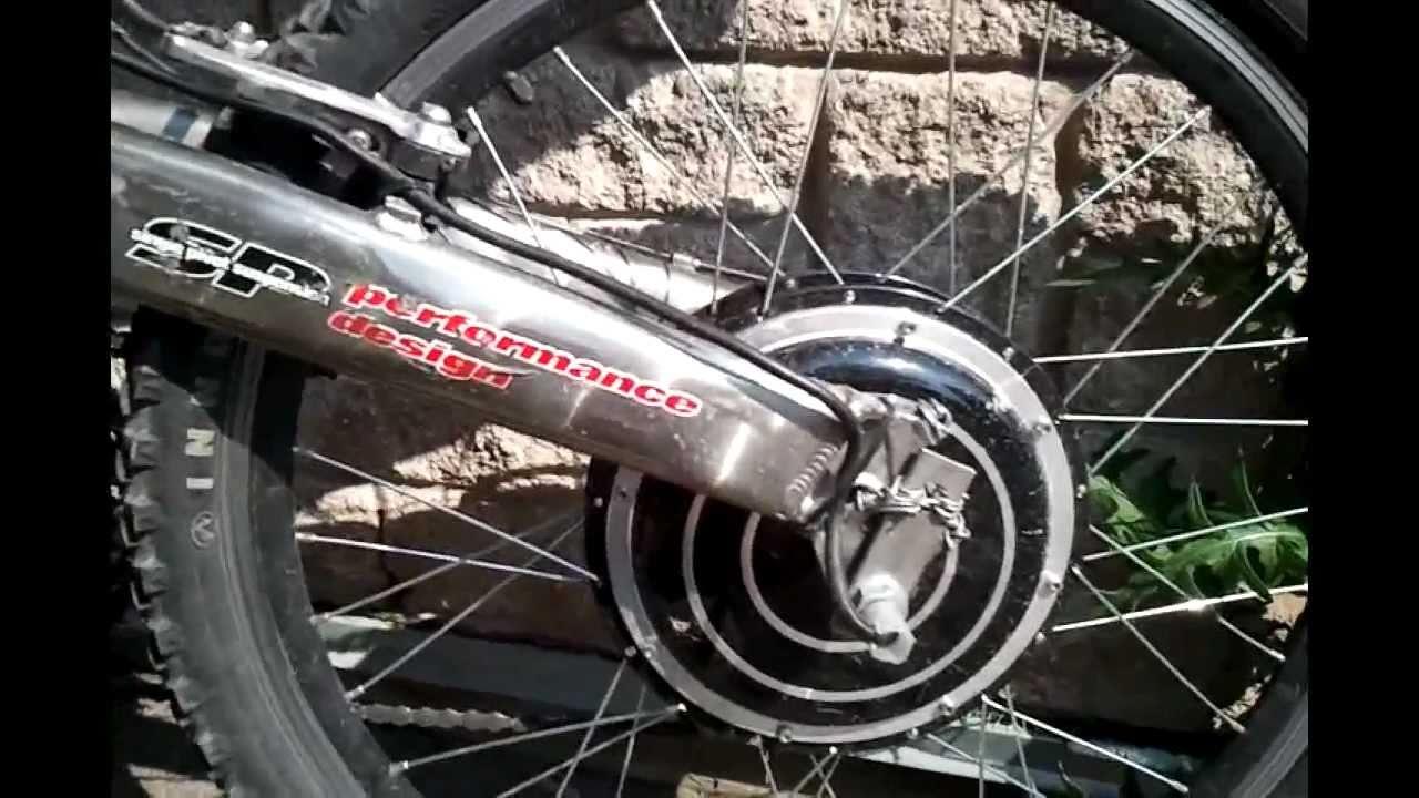 Golden Motor E Bike Conversion Youtube