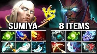 SumiYa Invoker GOD vs HARD Terrorblade Next Level Refresher Combo Most Epic Game 7.07 Dota 2