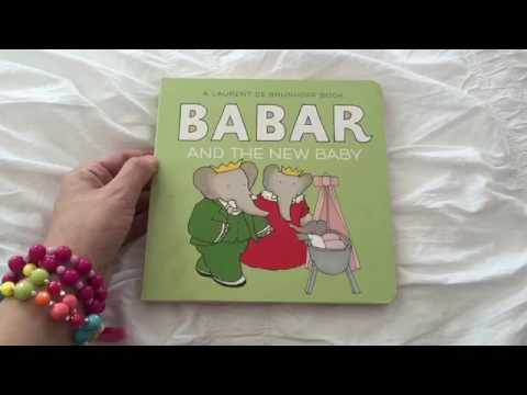 Babar And The New Baby Story Book