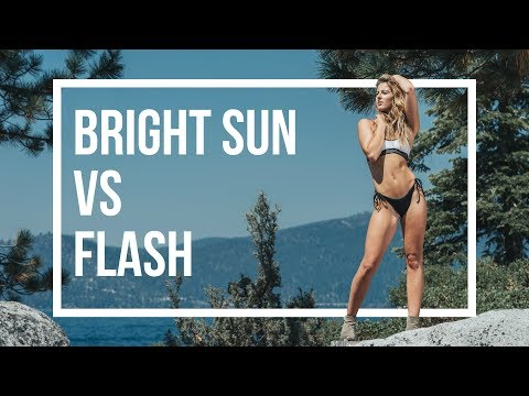 Take stunning OUTDOOR PORTRAIT PHOTOGRAPHY with a flash - Overpower the sun