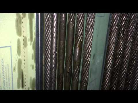 Elevator Upgrade Part 8 Reroping 875 ft of Elevator Hoist Rope #2(B) DIRTY calling Mike Rowe