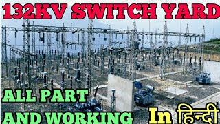 || #132KV #SwitchYard full explain in hindi||electrical engineering in hindi|| Bassi power House||