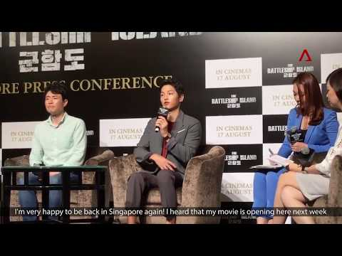 [Engsub]170808 Song Joong Ki say challenging if future work with Song Hye Kyo 송중기 송혜교