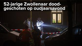 52-jarige Zwollenaar doodgeschoten Buitengasthuisstraat Zwolle - ©StefanVerkerk.nl