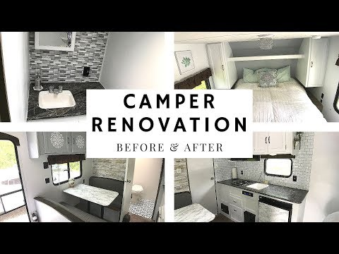 Camper Renovation: Before And After!