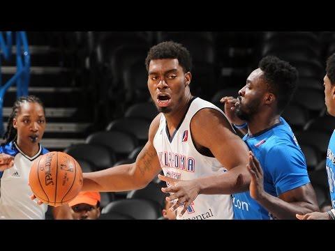 Dakari Johnson 2016-17 NBA D-League Season Highlights w/ OKC Blue