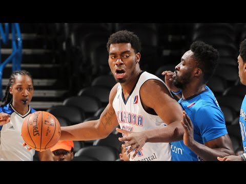 Dakari Johnson 2016-17 NBA D-League Season Highlights w/ OKC Blue