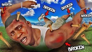 FRANKLIN BROKE All Of His BONES In GTA 5 (NEW Record)