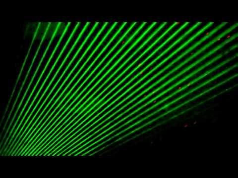 American DJ Galaxian 3D Light Demo