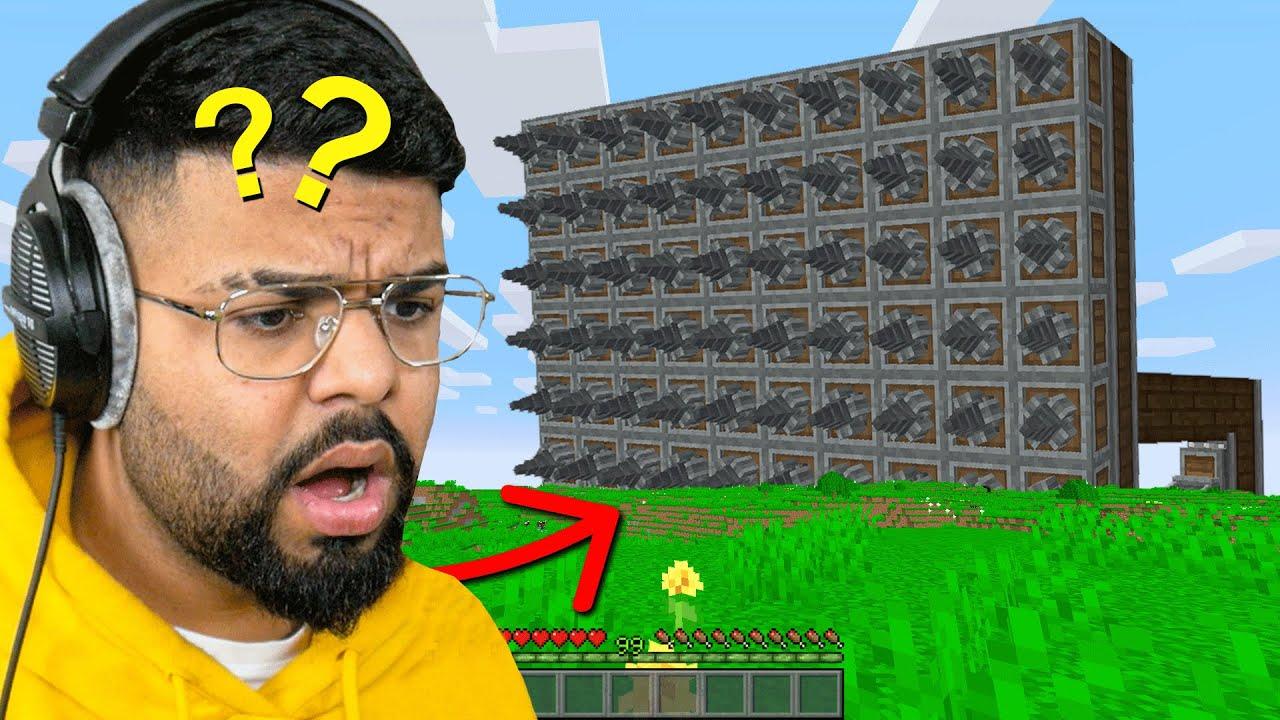I made a Machine to secretly Delete my Friends House...