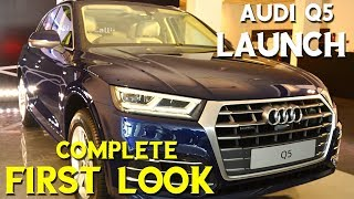 Q5 Audi 2018 walk around | Complete First Look of Audi  Q5