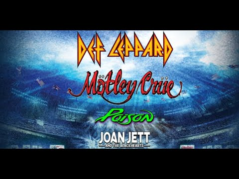 Big update set for the MÖTLEY CRÜE, DEF LEPPARD, POISON and JOAN JETT tour