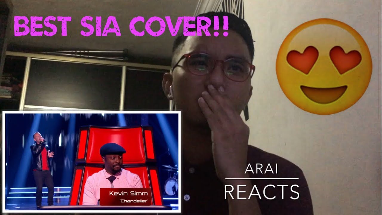 Kevin Simm Chandelier The Voice UK Blind Audition REACTION - YouTube