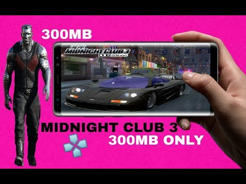 Midnight Club 3 300mb Highly Compressed Offline Psp Android 2019 Best.