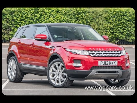 2012 12 LAND ROVER RANGE ROVER EVOQUE 2 2 SD4 Prestige Auto Lux Pack full Video