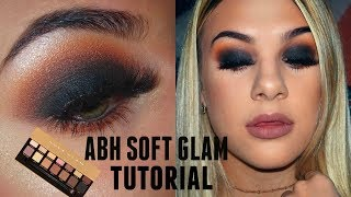 ABH SOFT GLAM TUTORIAL\\ BLACK SMOKEY EYE