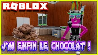J'AI ENFIN LE CHOCOLAT ! | Roblox Welcome To Farmtown