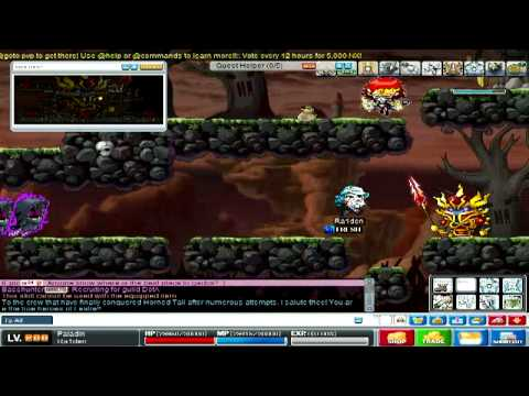 MapleStory - How to get to Crimsonwood Keep (CWK)!