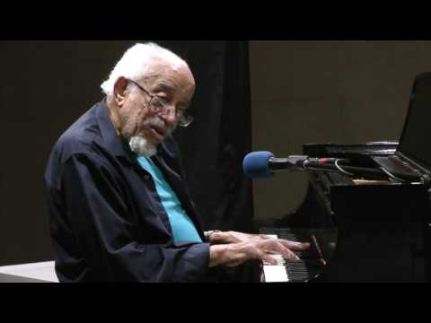 Barry Harris performs  Isn't She Lovely on Morning Jazz