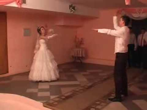 Видео, Флешмоб свадьба жених и невеста
