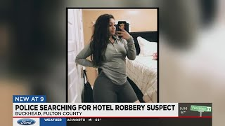 Police Search For Hotel Robbery Suspect