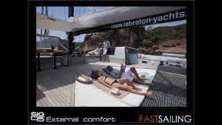 sig45 Catamaran for Charter by Fastsailing