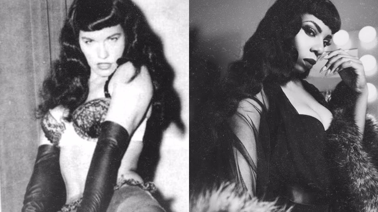 Bettie Page Hd 1950's bettie page bangs+ vintage soft waves new star hair