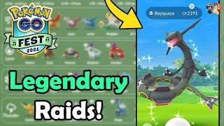 BEST Legendary Pokémon To RAID During Pokémon GO Fest 2021! (Day 2)