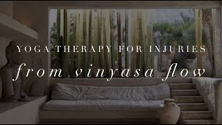 Michelle Mazur Life Wellness - Yoga Therapy and Injuries from Vinyasa Flow