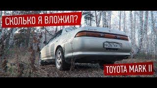 Toyota Mark II за 150 т.р. Сколько я вложил? Подвеска.<
