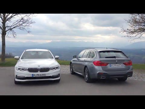 2017 BMW 520d & 530d Touring
