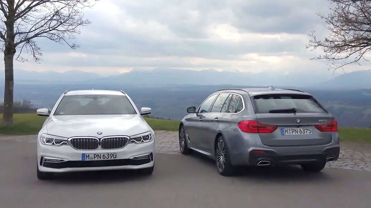 2017 Bmw 520d 530d Touring Youtube
