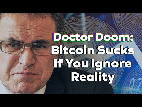 Bitcoin Price News – Dr Doom's Central Banking argument vs Free Cryptocurrency